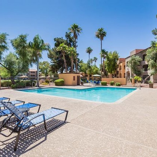 Feel like you're melting in this 108 degree Arizona weather?? Come cool off at one of our community pools!